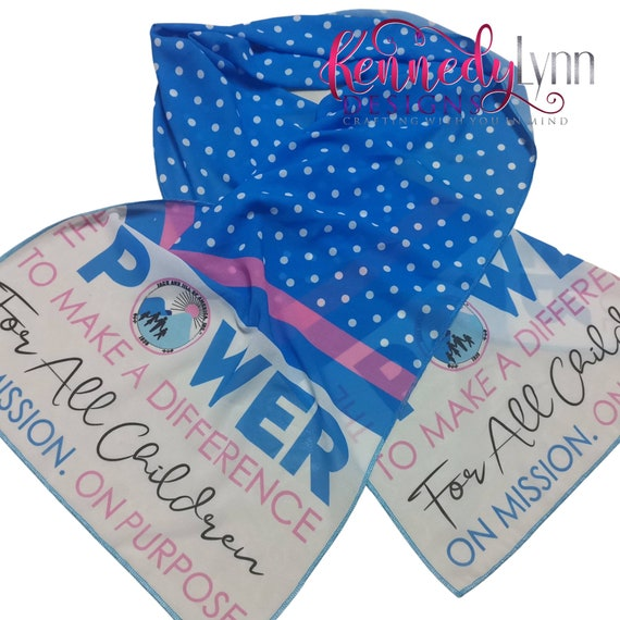 The Power to Make a Difference Scarf/ Jack and Jill