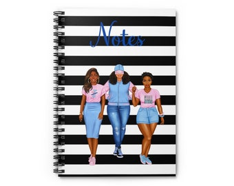Jack and Jill Spiral Notebook - Perfect Notes - 6x8 Ruled Lined