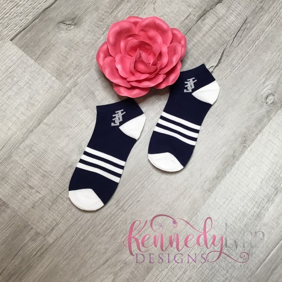 Jack and Jill of America, Inc. Ankle Sock - Navy