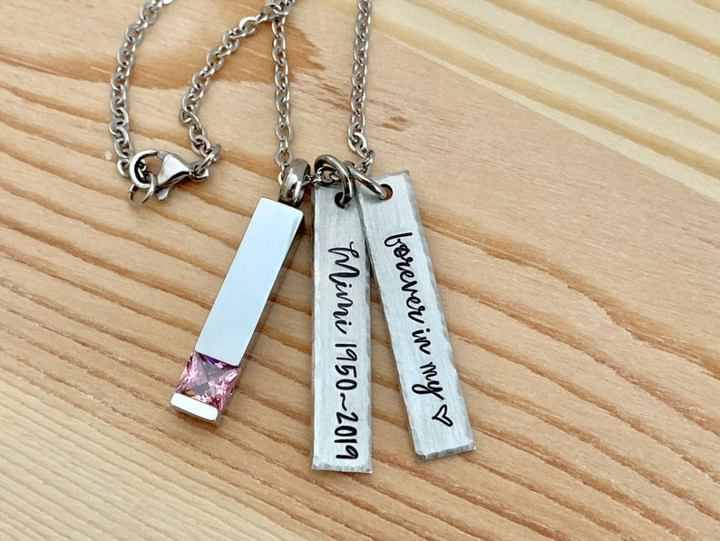 Cremation Necklace Forever in my Heart Urn Jewelry
