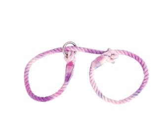 Tie-Dye (Large) BDSM Restraint Rope Cuffs, Bondage Cuffs