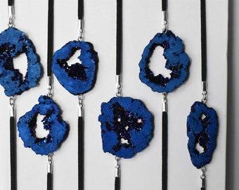 Blue Sparkling Druzy Artmark