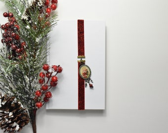 Antique Santa Artmark