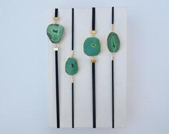 Green Geode Artmark