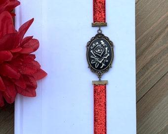 Bronze Flowered Connector Artmark