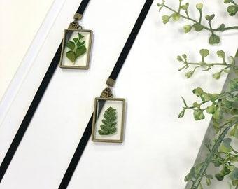 Pressed Leaf Artmark
