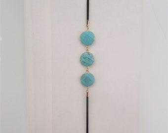 Round Turquoise Gemstone Artmark