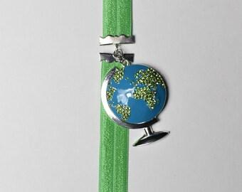 Rhinestone Globe Artmark