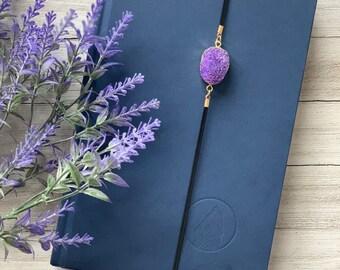 Purple Druzy Artmark