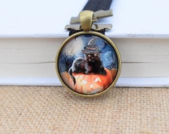 Halloween Cat Bubble Artmark