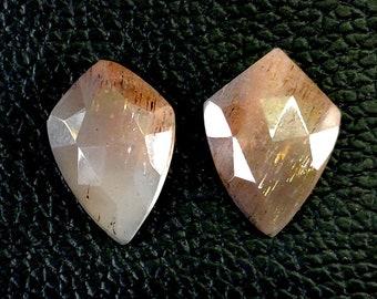 GOLDEN SHINE GEMSTONE Size 31.80x31.80x9.30mm 61.25 Ct,Golden Shine Gemstone Carving Cabuchon Round Shape Natural Golden Shine Gemstone