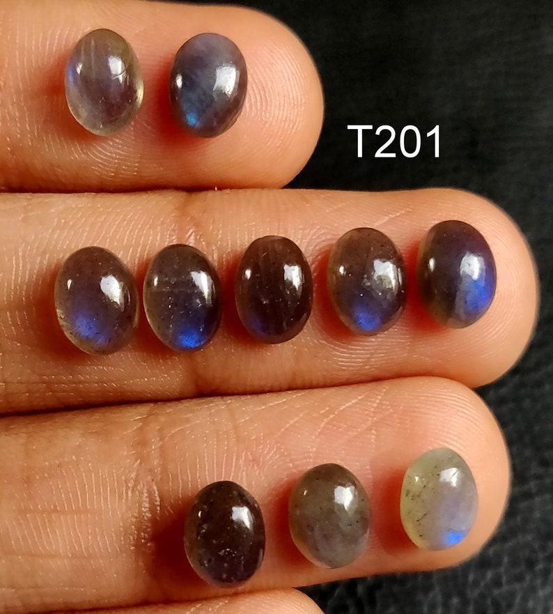 oval shape jewelry making gemstone NATURAL LABRADORITE CABOCHON