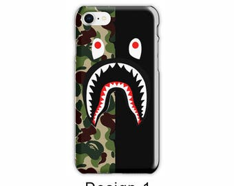 Bape Shark Iphone Case iPhone 8 iPhone 7/7 plus case Shark Bape Case Camouflage A Bathing Ape Camo, iPhone 6/6s case iPhone 6/6s plus