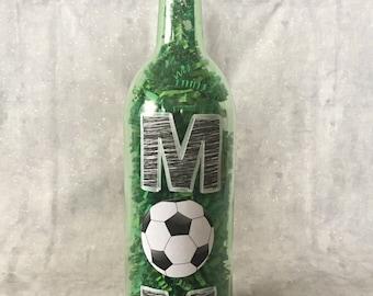 Soccer Mom Wine Bottle
