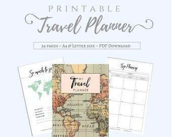 travel packing list etsy