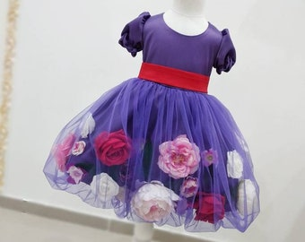 Mädchen Blumen-party, Bühne Mädchen, blumenmädchenkleid, künstliche  Mädchen, Mädchen Geburtstag, Blume Tüllkleid, Baby-Kleid 8bd084bf69