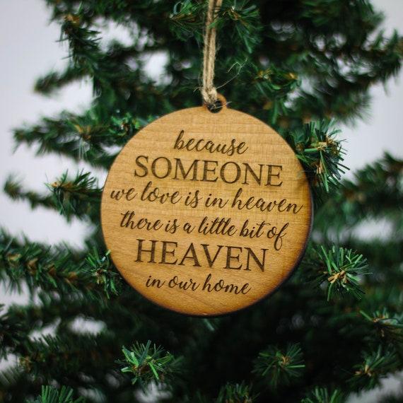 - In Loving Memory Christmas Ornament Custom Christmas Etsy