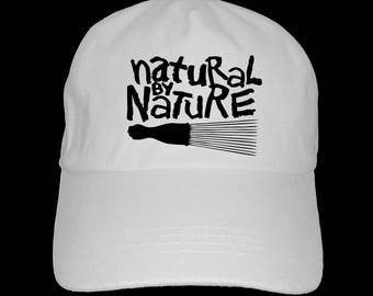Natural by Nature dad hat baseball cap afrocentric melanin 2669b68750da