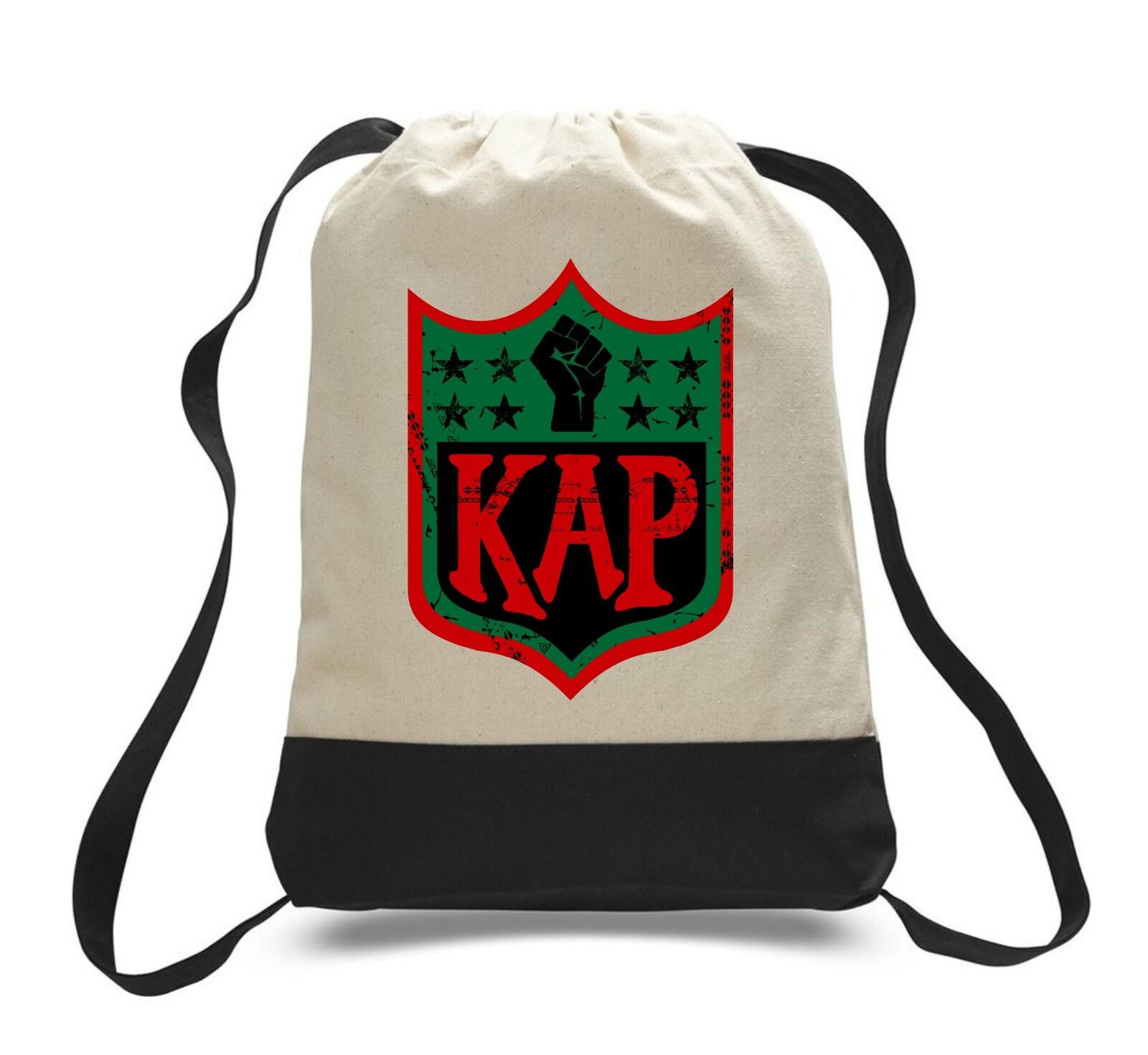 6be613c29 Colin Kaepernick Kap NFL RBG shield Inspired Backpack Tote