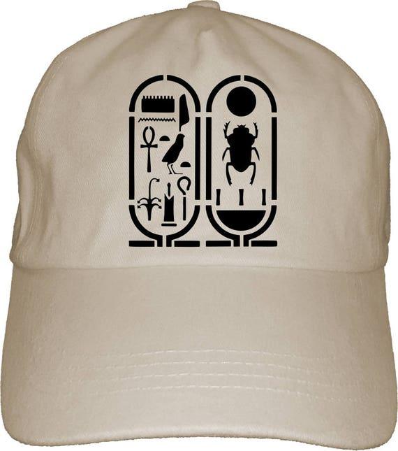 Egypt Symbol Dad Hat Baseball Cap Pharaoh Horus Beatle Isis Etsy