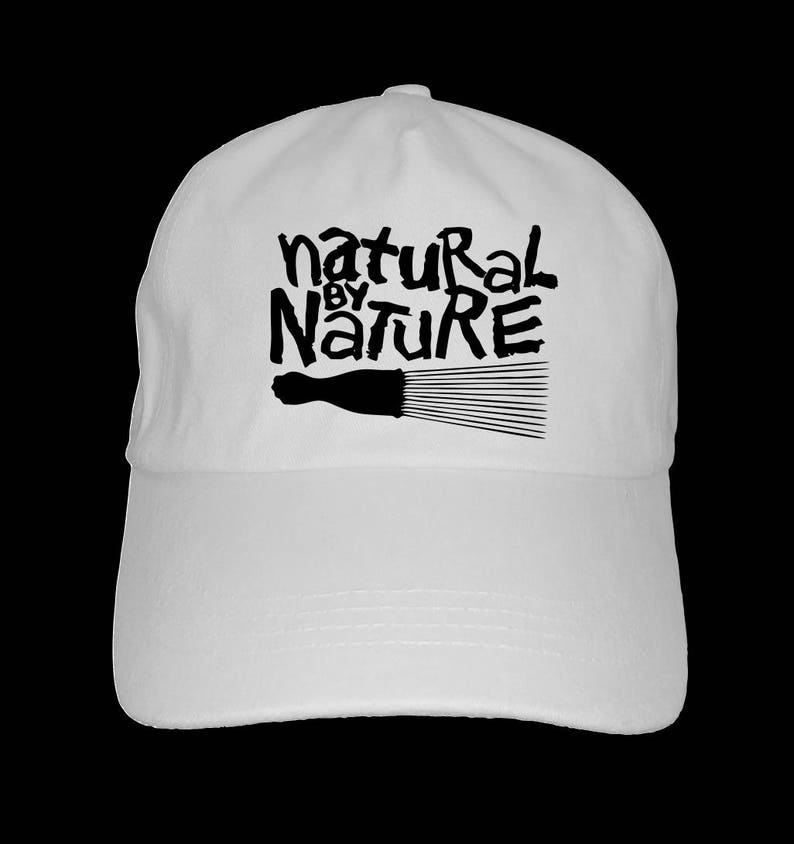 Natural by Nature dad hat baseball cap afrocentric melanin  c7f25aa4adcf