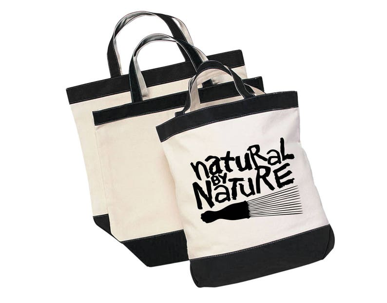 Natural By Nature Tote Bag Canvas Purse Tote
