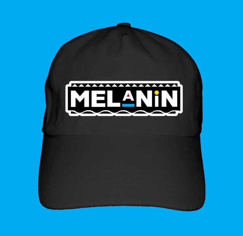 Melanin Dad Hat Baseball Cap Logo Style Afrocentric  0ffe73e500de