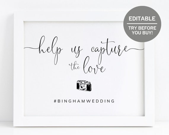 Bright Orange Rustic Lights Polaroid Guestbook Wedding Sign Print