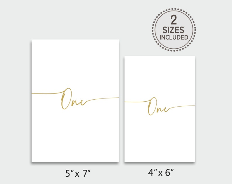 Rustic Gold Table Number Gold Wedding Table Numbers TRY BEFORE You BUY Table Number Template Printable Table Numbers Table Cards