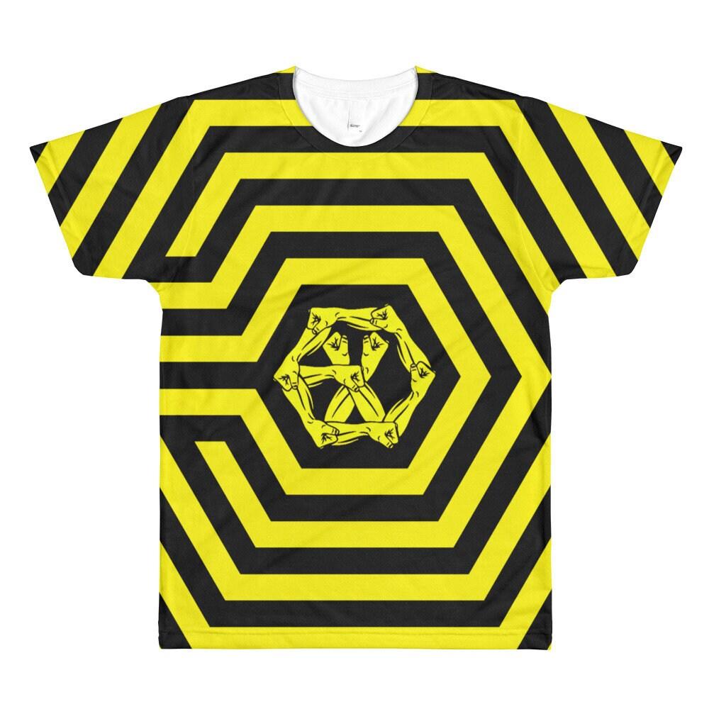 Exo The War All Over Printed T Shirtexo Merchexo Ko Ko Etsy