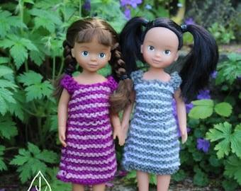 Knitting Pattern PDF - Knitted Dolls Dress - Barbie Doll Dress - 3-in-one  – Easy Knitting Pattern – Instant Digital Download