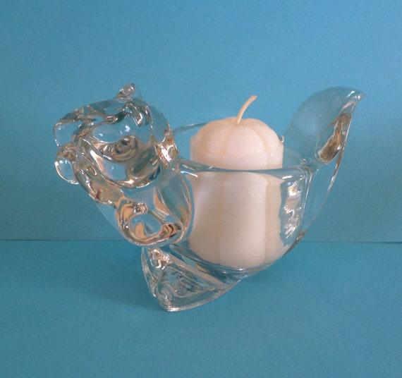 Avon vintage votive candle holder