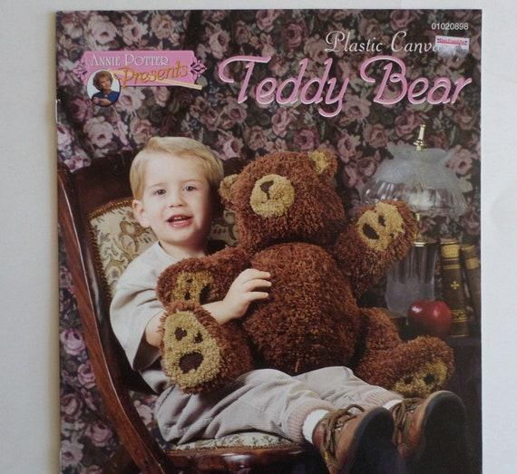 Plastic Canvas Teddy Bear  Patterns  Annie Potter Presents