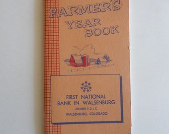 Farmers Year Book, Record keeping, 1969/1970 ledger