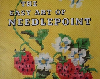 The Easy Art of Needlepoint book, needlepoint patterns