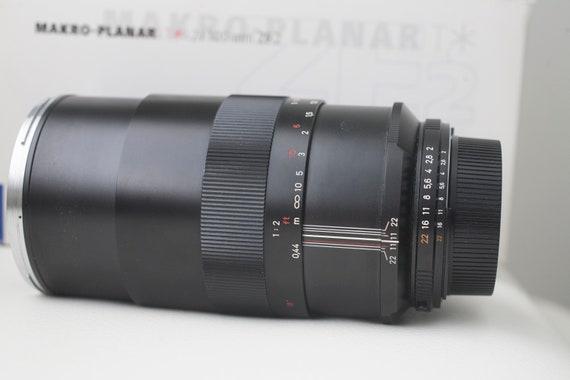 Zeiss 100mm f2 Makro Planar Zf.2 voor Nikon
