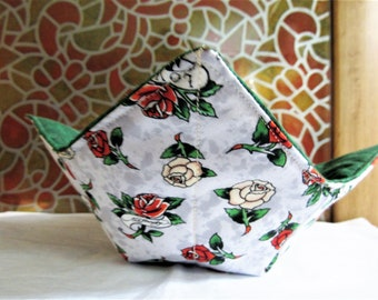 Ed Hardy Roses Reversible Microwavable Bowl Cozy 2b52b847fc