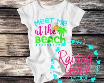 Meet Me At The Beach Bodysuit