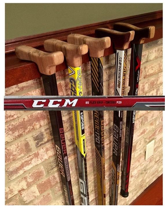 Hockey Stick Cane Ccm Rbz Speedburner Redsilverwhite Etsy