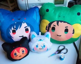 Custom Character Plush - Animal Costume Pillow