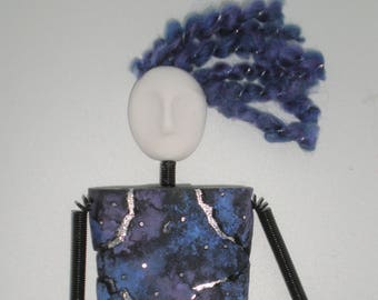 Night Sky Mystery Woman Magnet