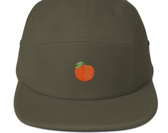 ca8c13ab72663 ThiccEats Peach Icon 5Panel Hat