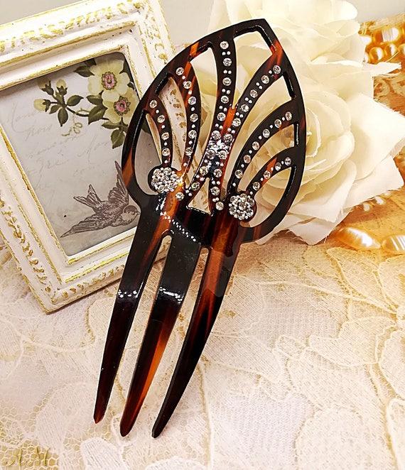 Vintage Hair Comb Spanish Hair Comb Flamenco Acces