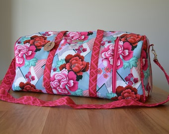 Dallas Duffel in Amy Butler fabric