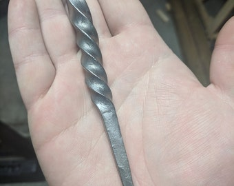 Hand-Forged Spiral Keychain  c2a128acf0