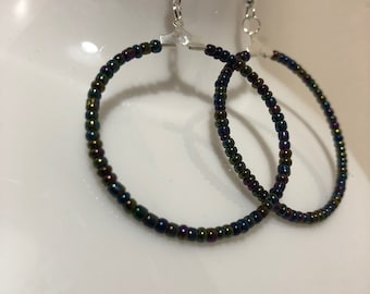 39\u201d Faceted Glass Chain 6mm