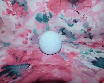 Orange scented bath bomb/orange bath bomb/orange scented/blue bath bomb/bath bomb/handmade/handmade bath bomb/gift/uk