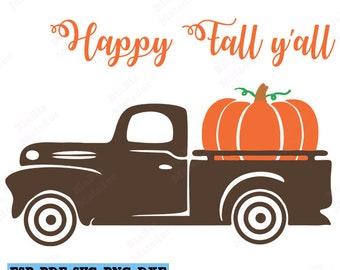 Happy fall yall svg | Etsy