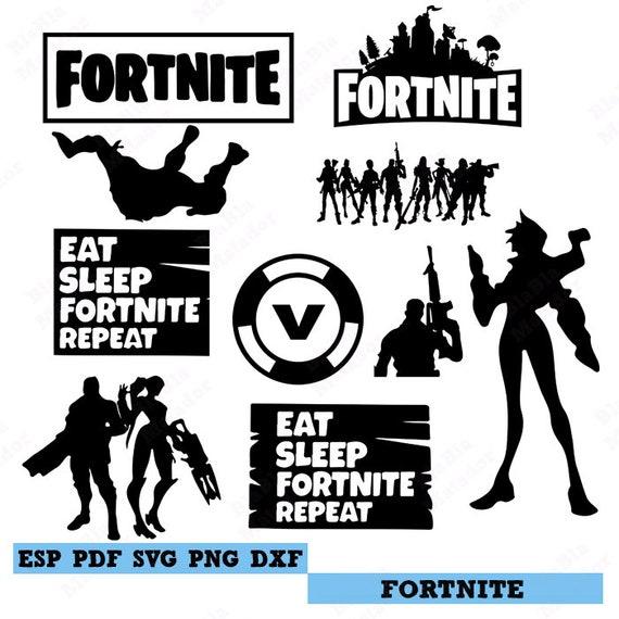 Download Fortnite Svg Fortnite SVG for Cricut Silhouette Fortnite ...