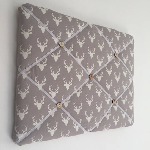 Large Handmade Padded Memo Board Made By Popsy Plum In Etsy Amazing Padded Memo Board